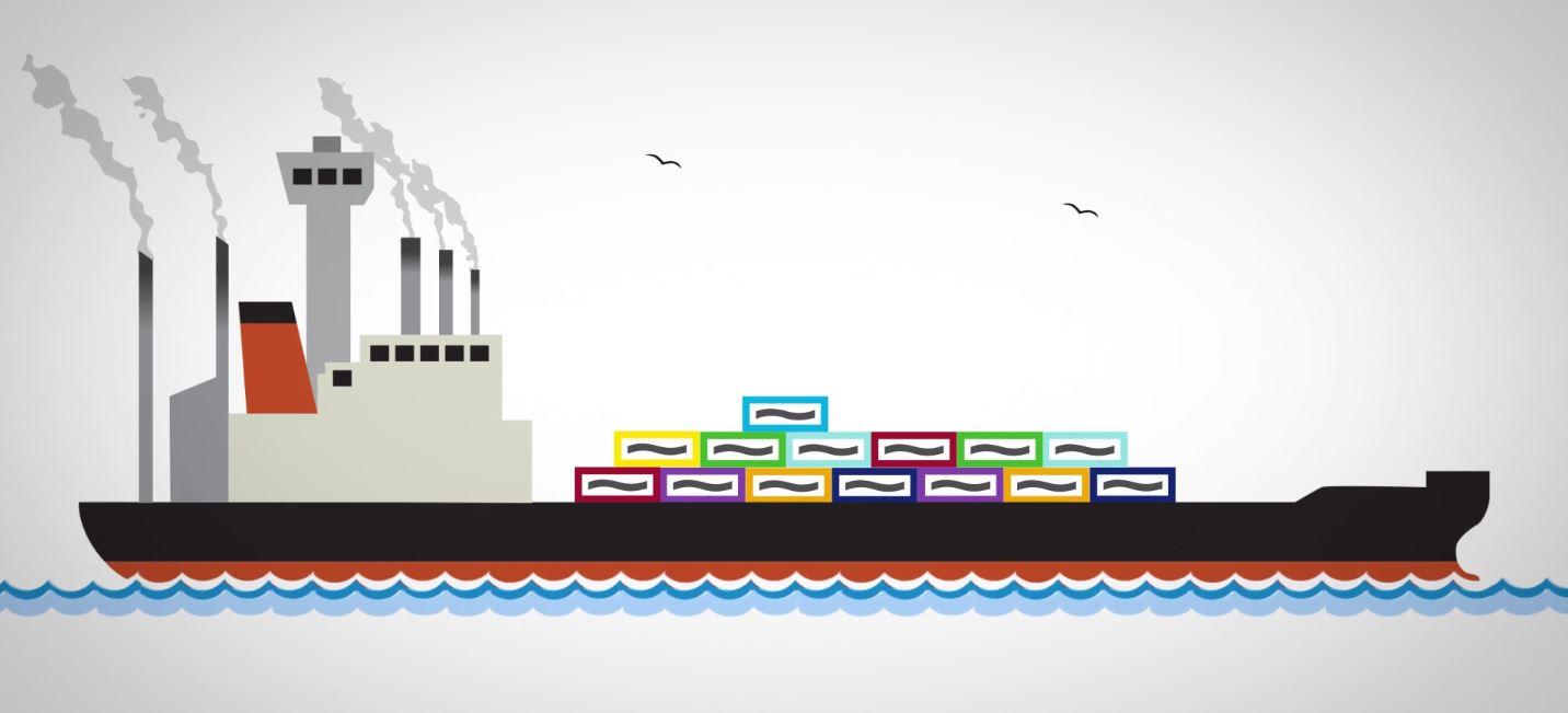 BeFlexi flexitank cargo ship