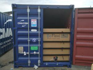 BeFlexi flexitank installation in Koper, Slovernia