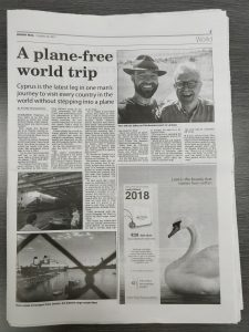 BeFlexi features in the Cyprus Mail with Once Upon A Saga
