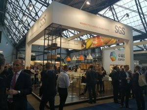 SGS booth at the European Commodities Exchange